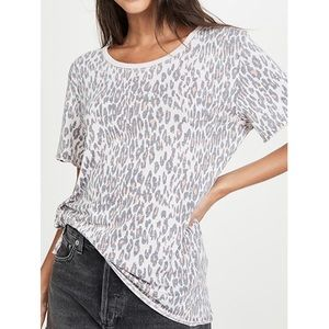 Free People Leopard Tee